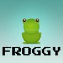 Froggy (Frogger clone)