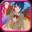 Anime Girl Subway Train Run
