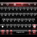Dusk BlackRed Emoji Keyboard