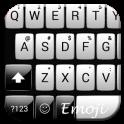 Gloss White Emoji Teclado