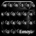 Spheres Black Emoji Teclado
