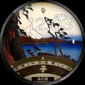 浮世絵時計 - 東海道五十三次 -