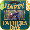 Happy Father's Day Photo Frame