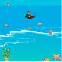 Grab funny fish