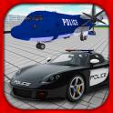 Police Car Airplane Transport