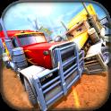 18 Wheeler Truck Crash Derby − Truckers Demolition