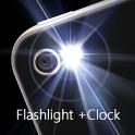 Super Flashlight + Clock