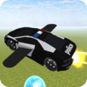 Police Car Flying