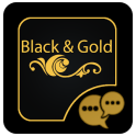 Black and Gold GOSMS PRO Theme