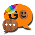 Wood theme for GO SMS Pro