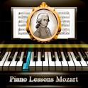 leçons de piano de Mozart