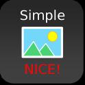 Nice Simple Photo Widget