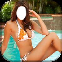 Bikini Girl Photo Montage