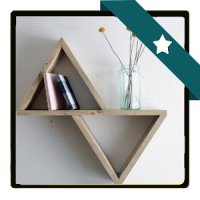 DIY Bücherregal Entwurf