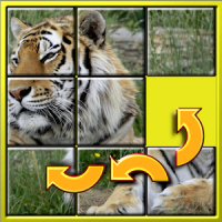 Kinder Tier Slide Puzzle 15