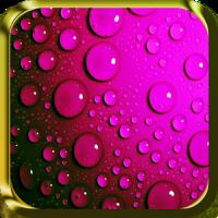 Running Raindrops Live Wallpaper
