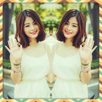 Mirror Photo Collage