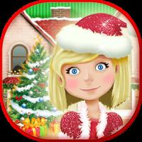 Christmas Dollhouse Games 3D