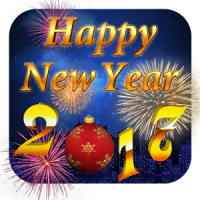 Happy New Year 2017 3D Theme