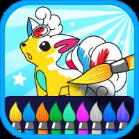 Pokymon Coloring Artbook