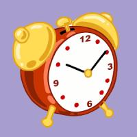 Weekdays Months Clock for Kids