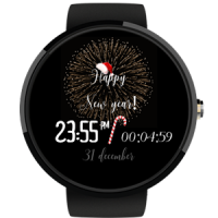 Happy New Year Watch Face