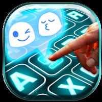 Emoji Neon Keyboard Themes