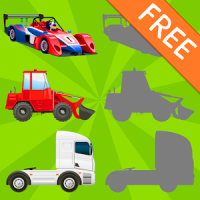 Vehicles Shadow Puzzles for Toddlers Free