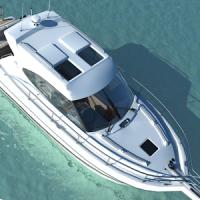 Jet Cruiser Ship Drive Ferry Boat Transport