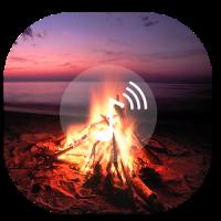 Romantic Fire Screen Fire sounds Fire wallpaper