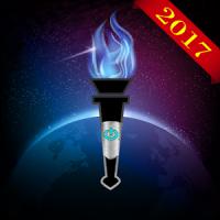 Flashlight -LED Torch COMPASS