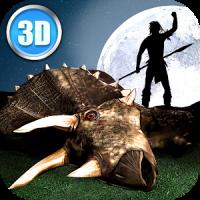 Cazador de animales prehistóricos 3D