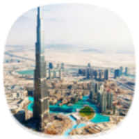 Burj Khalifa City Theme HD
