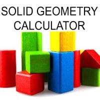 Solid Geometry Calculator