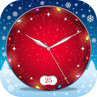 Live Clock Wallpaper Christmas