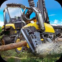 Logging Harvester Truck