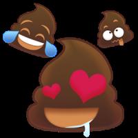 Animoji Poo Animated Stickers