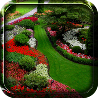 Jardín Fondo Animado