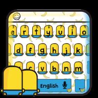 Yellow Brothers Anime Keyboard