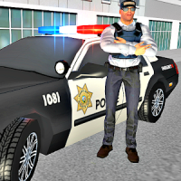 US Police Car Driver