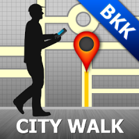 Bangkok Map and Walks