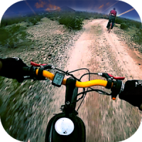 Offroad Bicycle Rider