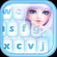 Cute Dolls Emoji Keyboard