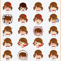 Animated Sticker for messenger