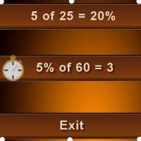 percentage math homeworks