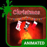 Christmas Animated Keyboard + Live Wallpaper