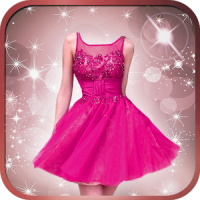 Short Dress Girl Photo Montage