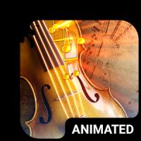Music Vibes Animated Keyboard