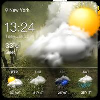 Free weather forecast app& widget .⛅