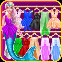 Mermaid Princess Chic Dress up